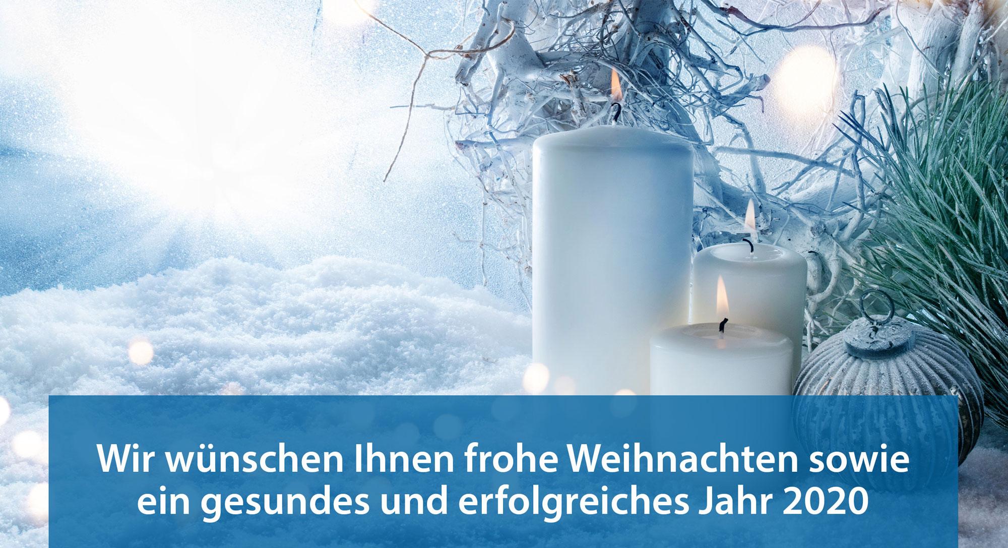 Wedo – Weihnachtsschreiben Newsbeitrag 2019